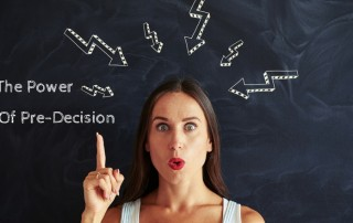 The Power of Pre-Decision